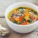 Sopa de Quinoa y Calabaza