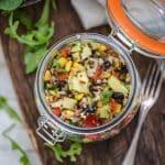 Arroz con quinoa y verduras