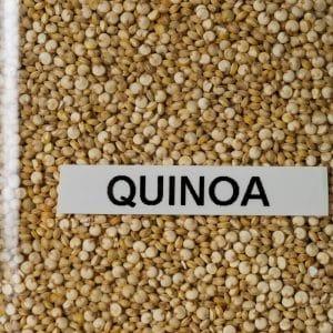 Granos de quinoa