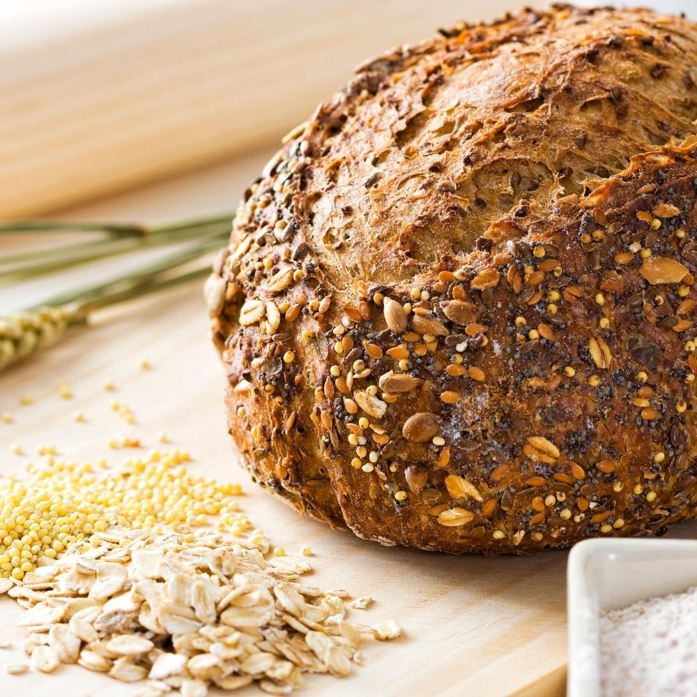 Pan con semillas de quinoa