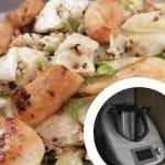 Receta de quinoa, pollo y verduras en thermomix