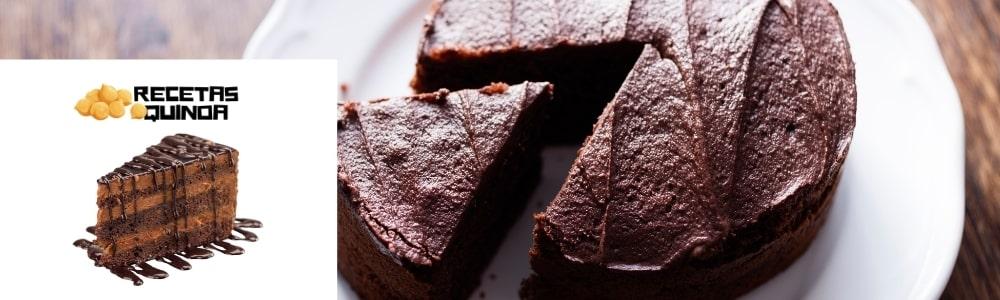 Receta Tarta de Quinoa con chocolate