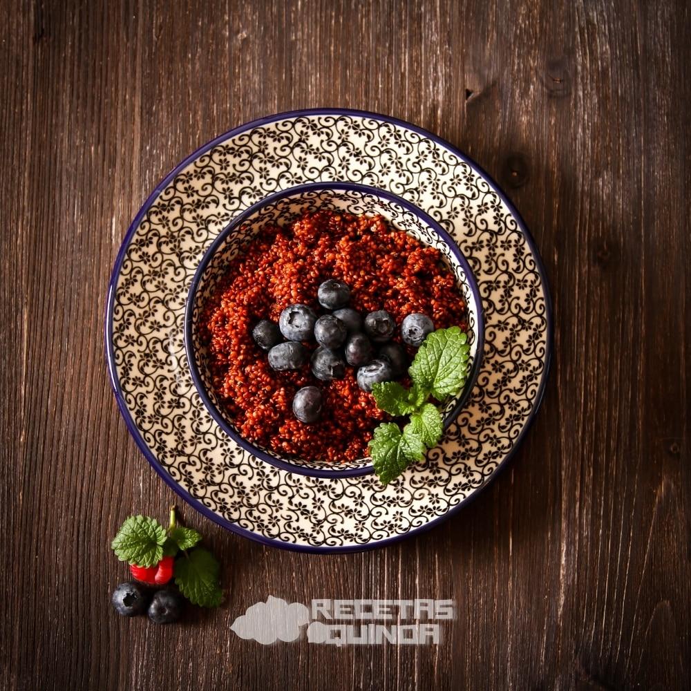 Quinoa con arándanos