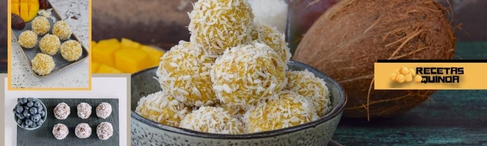 Receta de Bolas energéticas de quinoa