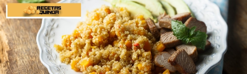 guiso de conejo con quinoa