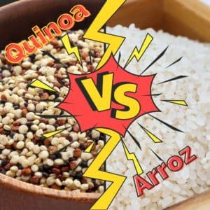 Quinoa vs Arroz