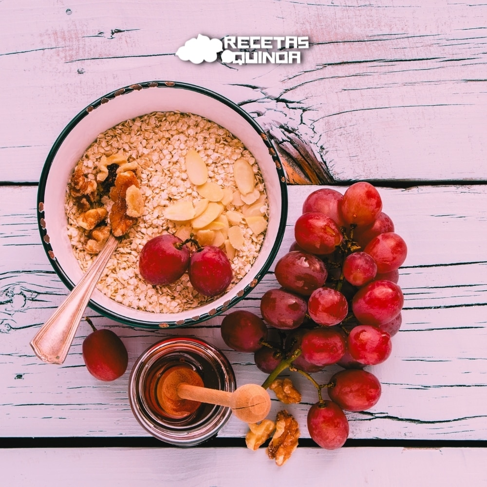 Receta de Copos de quinoa